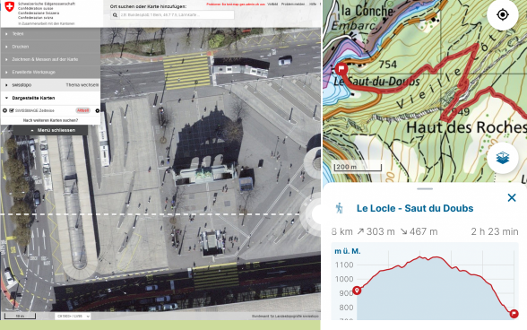 Schweiz Karte Schwarz Weiss.Karten Und Geodaten Online