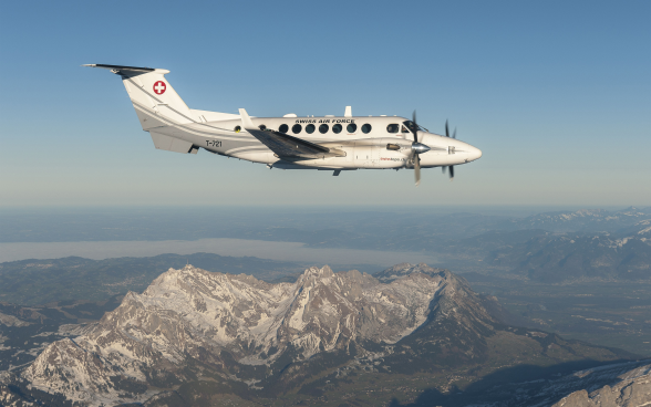 Bild der Super King Air 350C