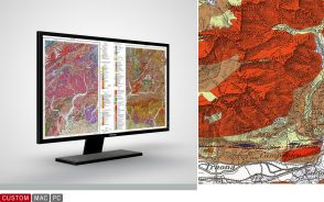 General Geological Map of Switzerland 1:200,000