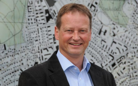 Fridolin Wicki, director of swisstopo