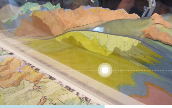Geological map and 3D model of the Sardona Tectonic Arena (a UNESCO World Heritage site).
