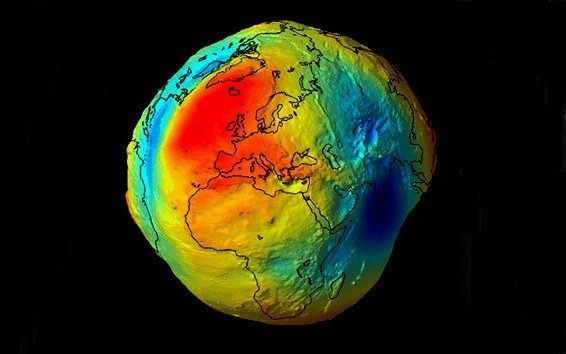 Photo of a geoid