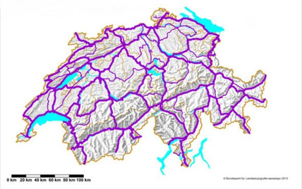 The Swiss national levelling network