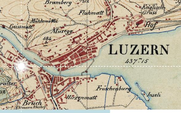 La Cartina Geografica Della Svizzera.Carte Storiche